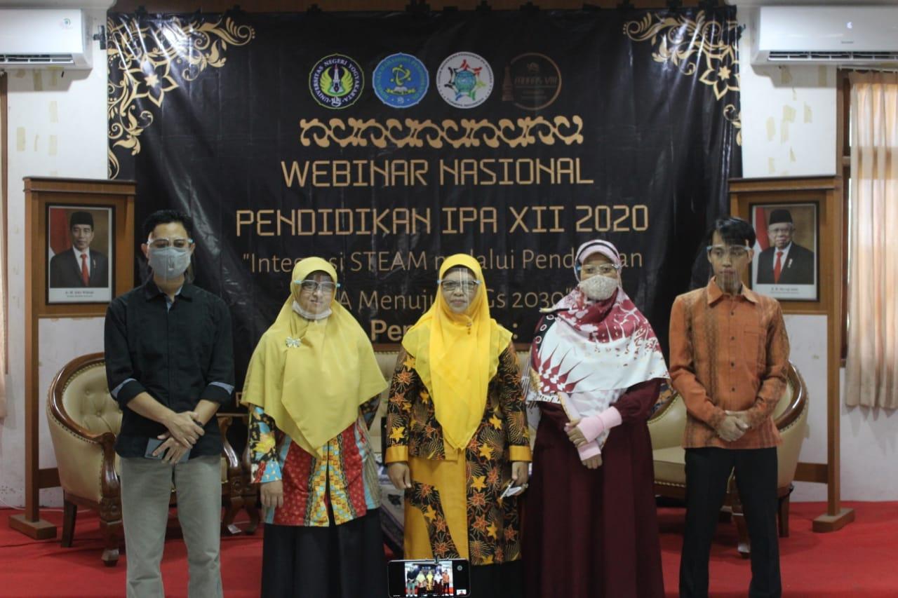 WEBINAR NASIONAL PENDIDIKAN IPA XII 2020